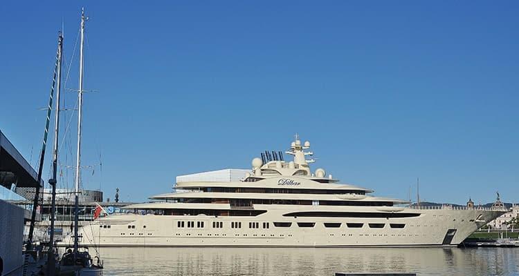 list-of-heaviest-yachts-dilbar