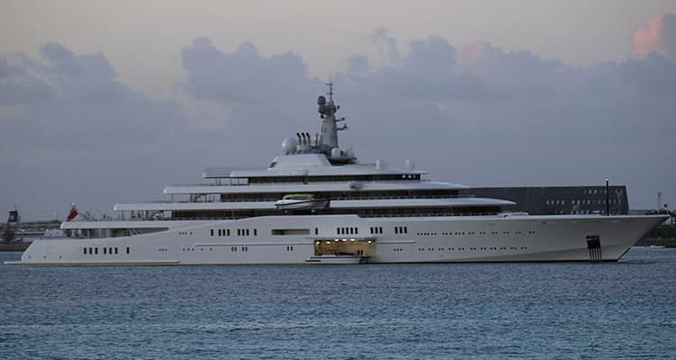 list-of-heaviest-yachts-eclipse