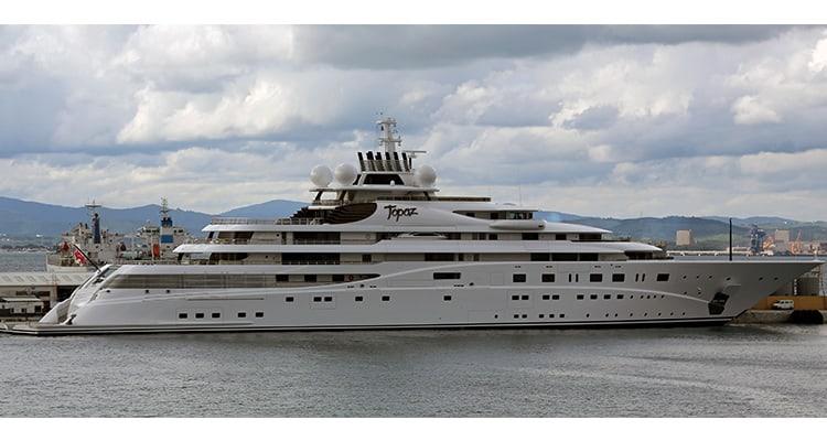 list-of-heaviest-yachts-topaz