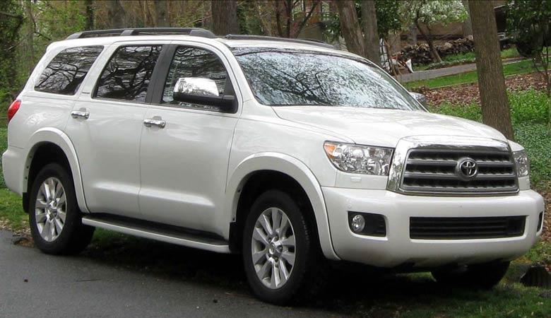 Toyota-Sequoia-heavy-SUV