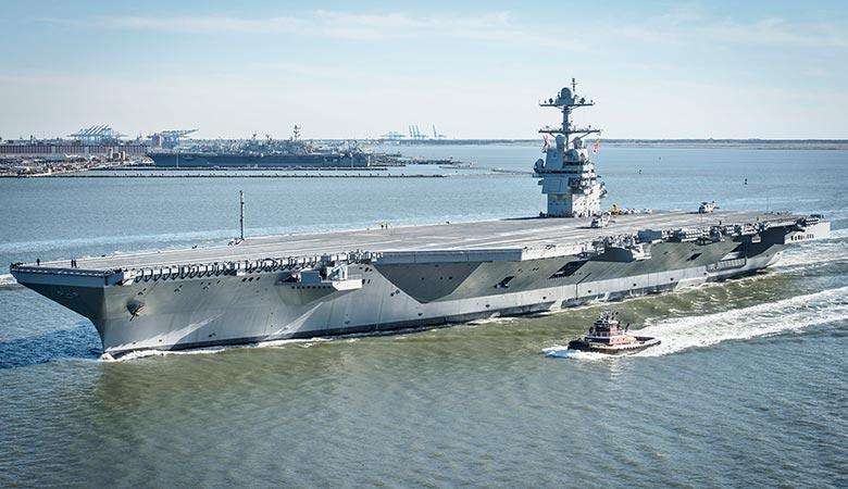 USS-Gerald-R.-Ford-heavy-warship