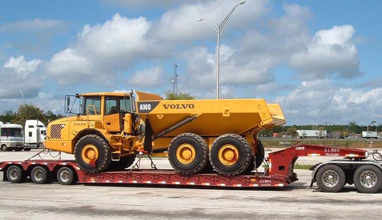 A-lowboy-trailer-weight