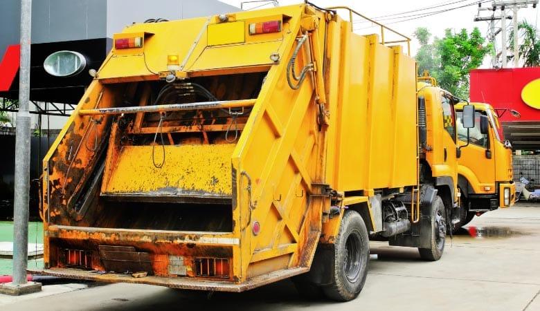 Garbage-truck-weight