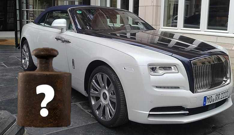 WHAT'S-THE-WEIGHT-OF-A-ROLLS-ROYCE