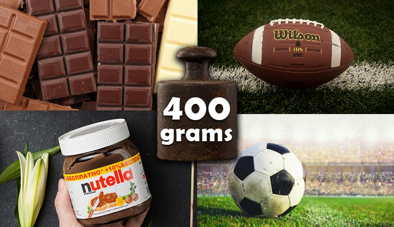common-items-that-weigh-400-grams