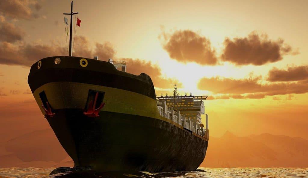 Cargo ship-1000-tons