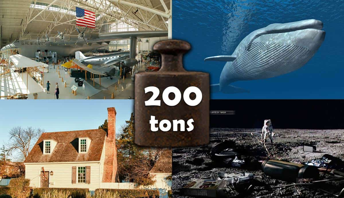 list-of-things-that-weigh-200-tons