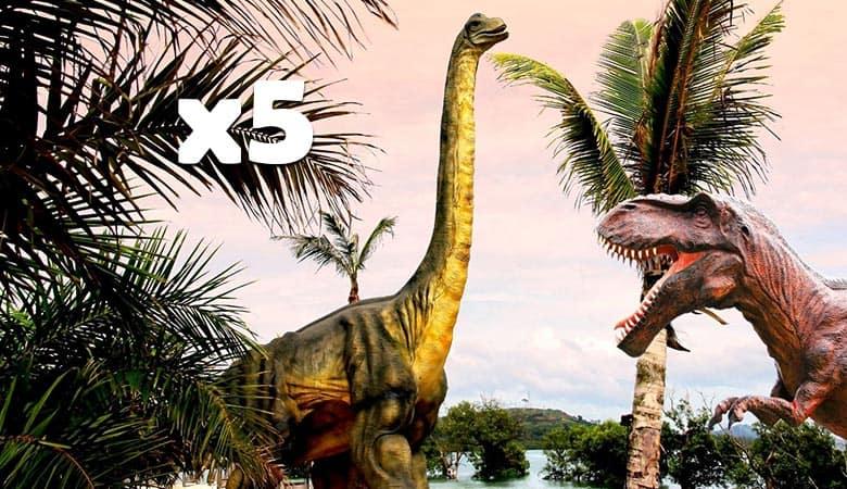 five-Sauropod-500-tons